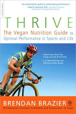 Thrive Vegan Nutrition Guide