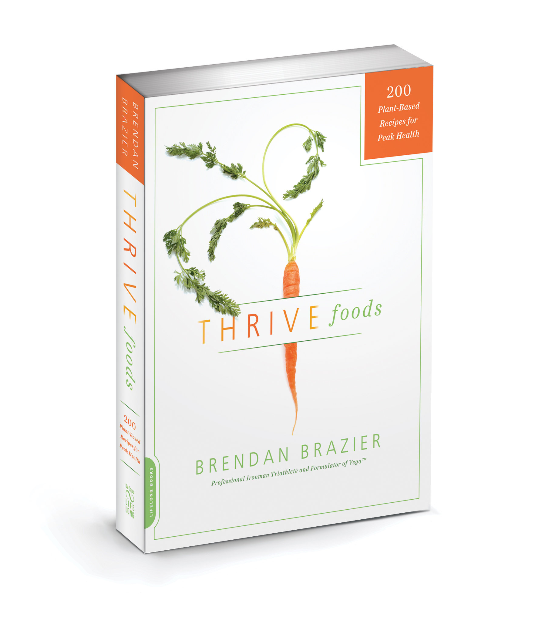 Food Book Cover : Thrive foods plant based recipes for peak health