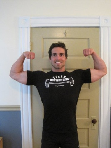 Vegan Bodybuilding & Fitness T-Shirt - Men's