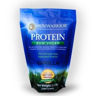 Raw Vegan Rice Protein by SunWarrior - Vanilla