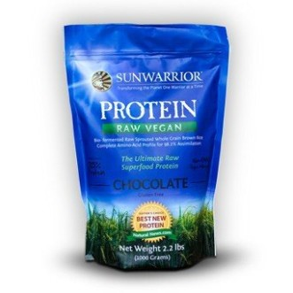 Raw Vegan Rice Protein by SunWarrior – Chocolate