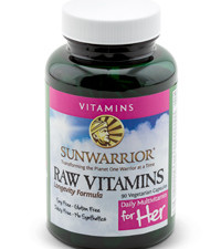 Raw Vitamins for HER Bottle