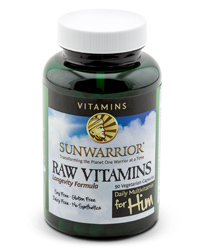 Raw Vitamins for HIM Bottle