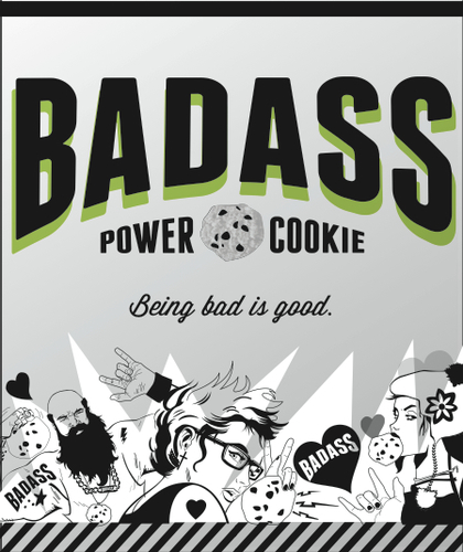 BAD ASS Power Cookie with Spirulina, By BAD ASS Vegan | VeganProteins