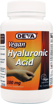 Hyaluronic Acis 100mg 90tabs Deva Bottle