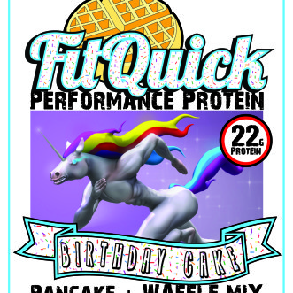 FitQuick Birthday Cake Front