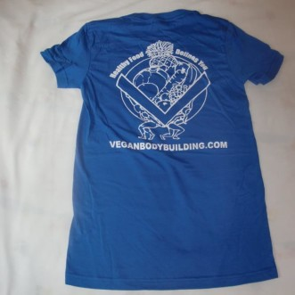 Blue Womens TShirt Back
