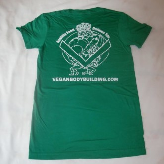 Green Womens TShirt Back