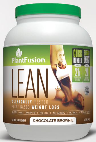 PlantFusion Lean Chocolate Brownie