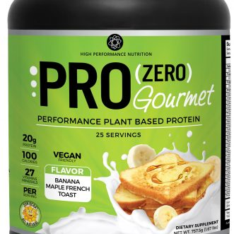 Pro Zero Gourmet Banana Maple French Toast