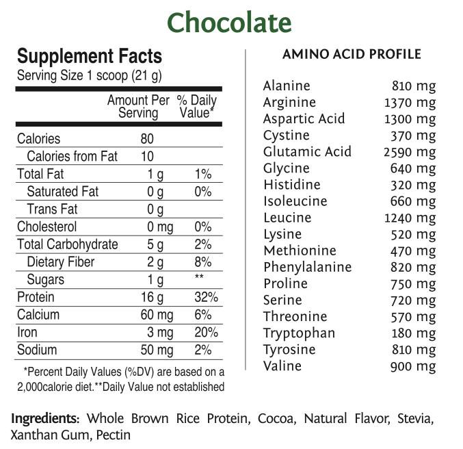 raw vegan rice protein by sunwarrior | vegan proteins