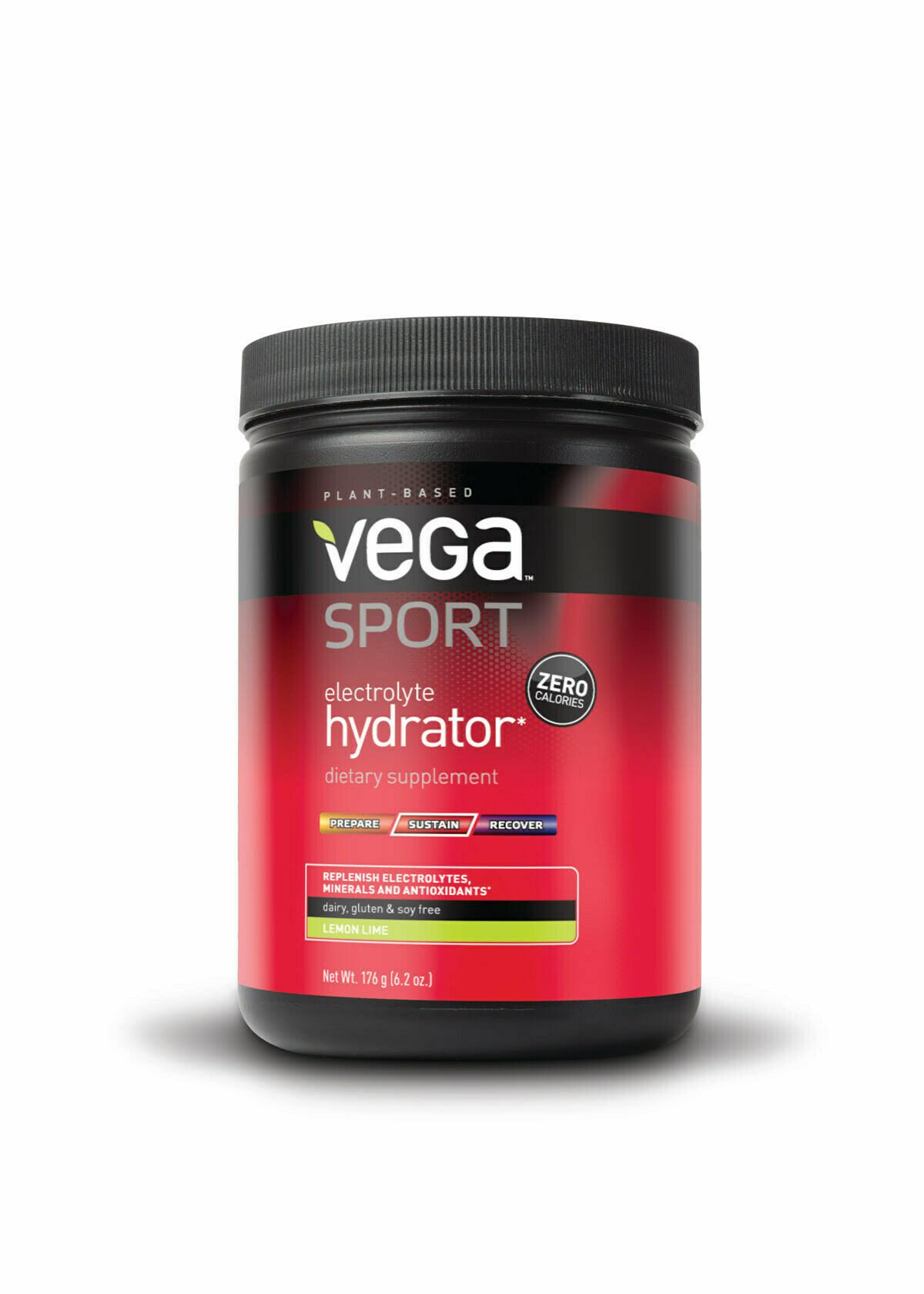 Vega Sport Electrolyte Hydrator 5 2oz Tub 40 Servings