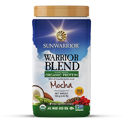 Warrior Blend Mocha by Sunwarrior