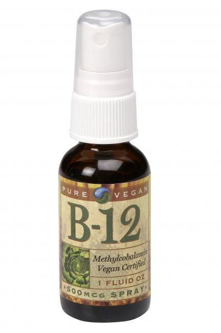 B12 Spray By Pure Vegan Vegan Proteins