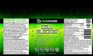 Clean Machine Cell Block 80