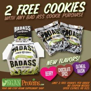 Badass vegan power cookies