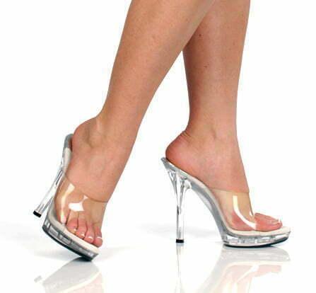 Quest clear figure shoe