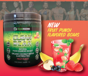 CleanMachine Clean BCAA