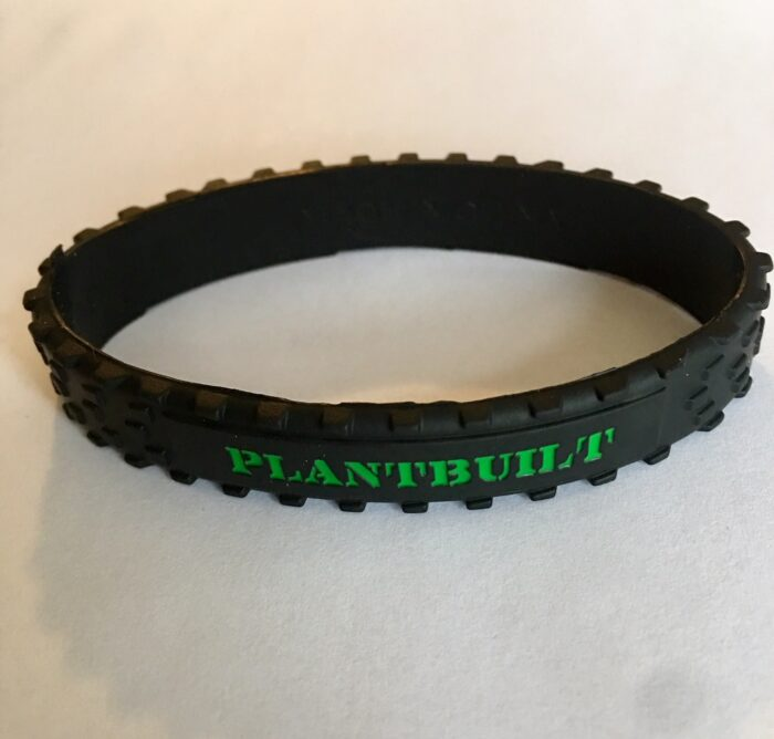 plantbuilt vegan strength team wristband