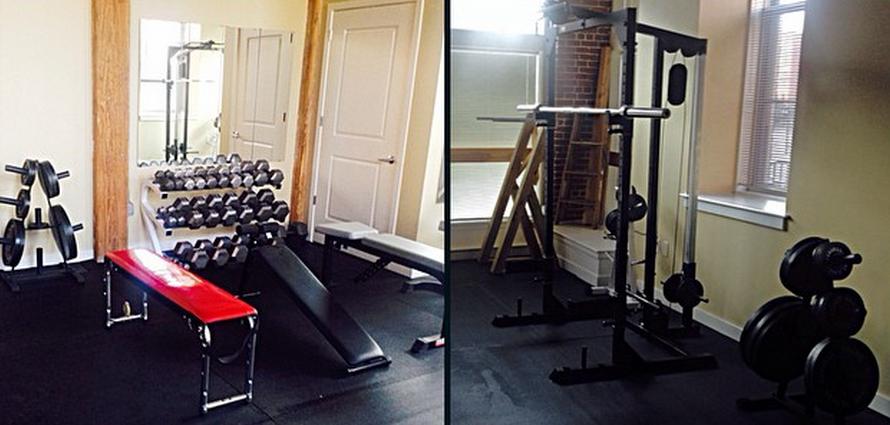 how to build your gym at home