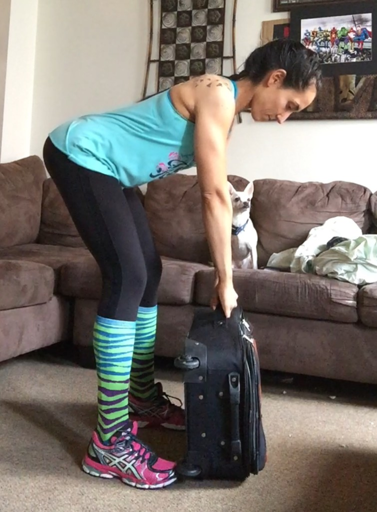 Airport workout exercises