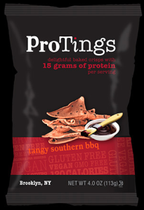 ProTings tangy southern barbecue crisps