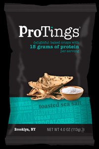 ProTings toasted sea salt crisps