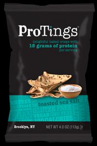 ProTings toasted sea salt crisps