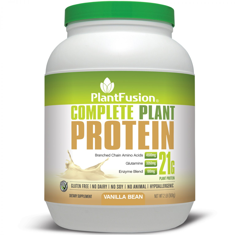 PlantFusion Complete Plant Protein Powder 2lb   VeganProteins