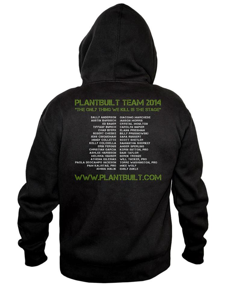 Plantbuilt hoodie