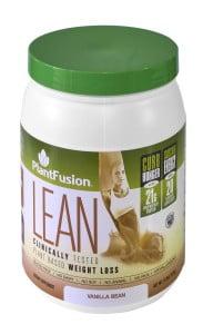 PlantFusion Lean Vanilla Bean
