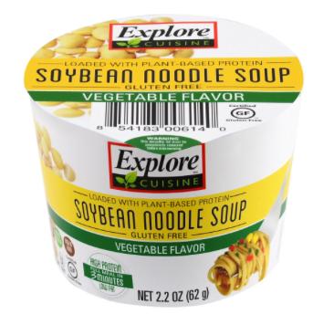 Explore soybean noodle soup