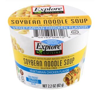 Explore soybean noodle soup