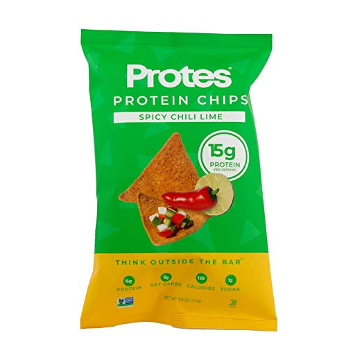 Proteins vegan protein snacks - chili lime