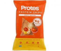 Proteins vegan protein snacks - zesty nacho