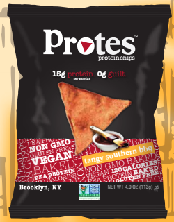 Protes vegan protein chips
