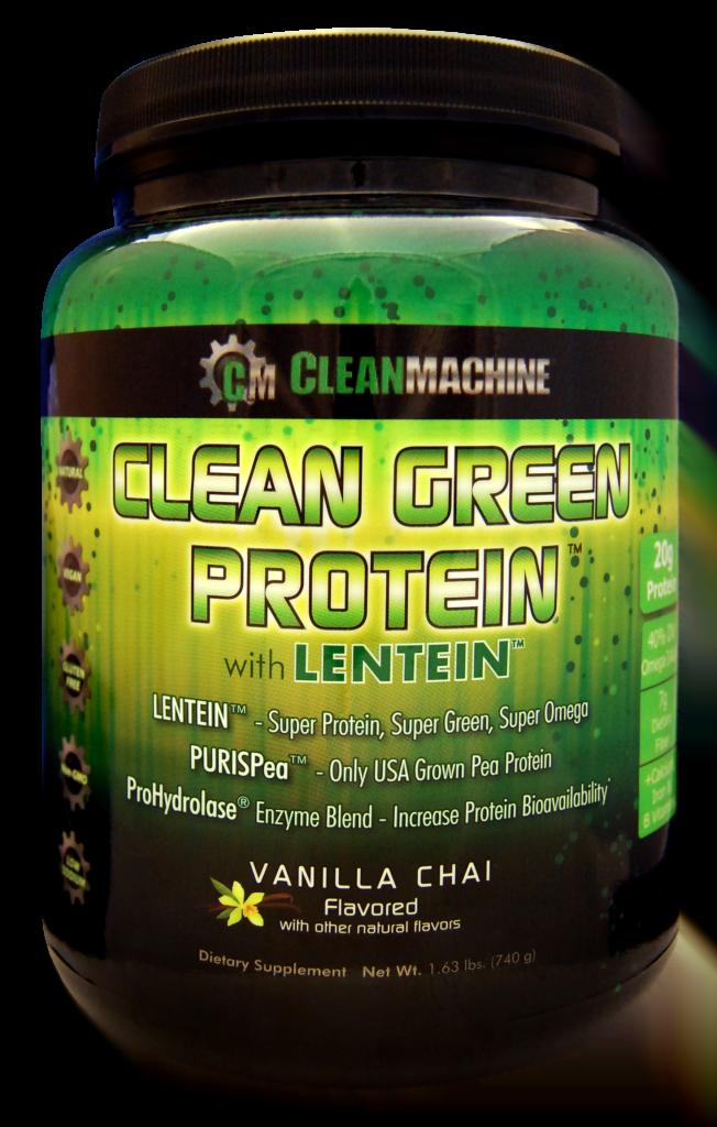 Clean Machine Clean Green Protein with Lentein