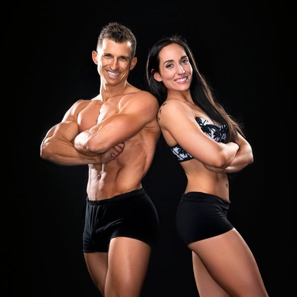 vegan bodybuilding & fitness coaches giacomo and dani