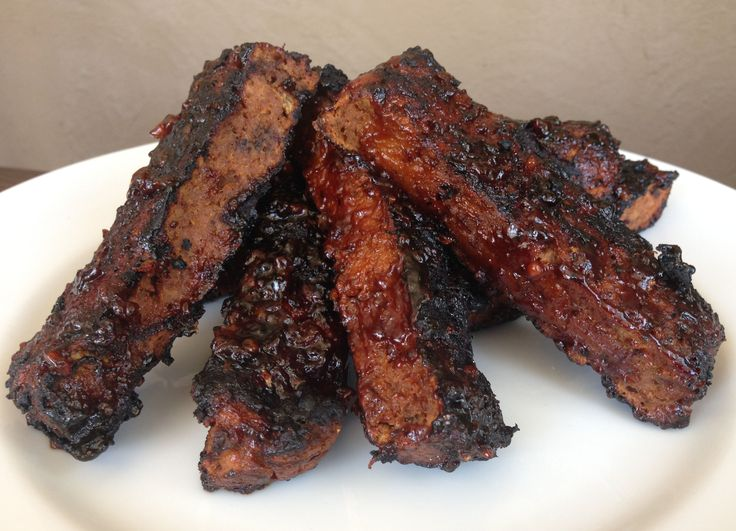 Barbecue Seitan Ribs Vegan Proteins