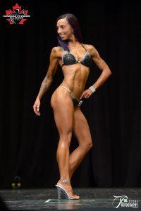 Vegan Bikini Competitor, Justine Cottingham-Leblanc
