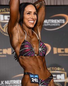 Simone Colline, Figure Competitor